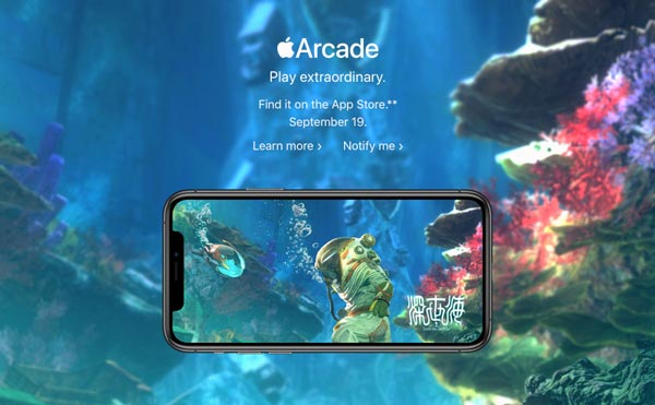 Apple's new Arcade subscription